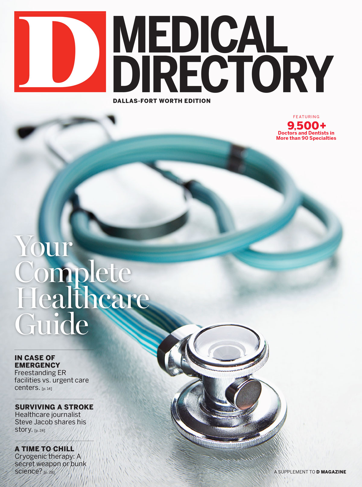 Dallas Medical Directory 2014 cover