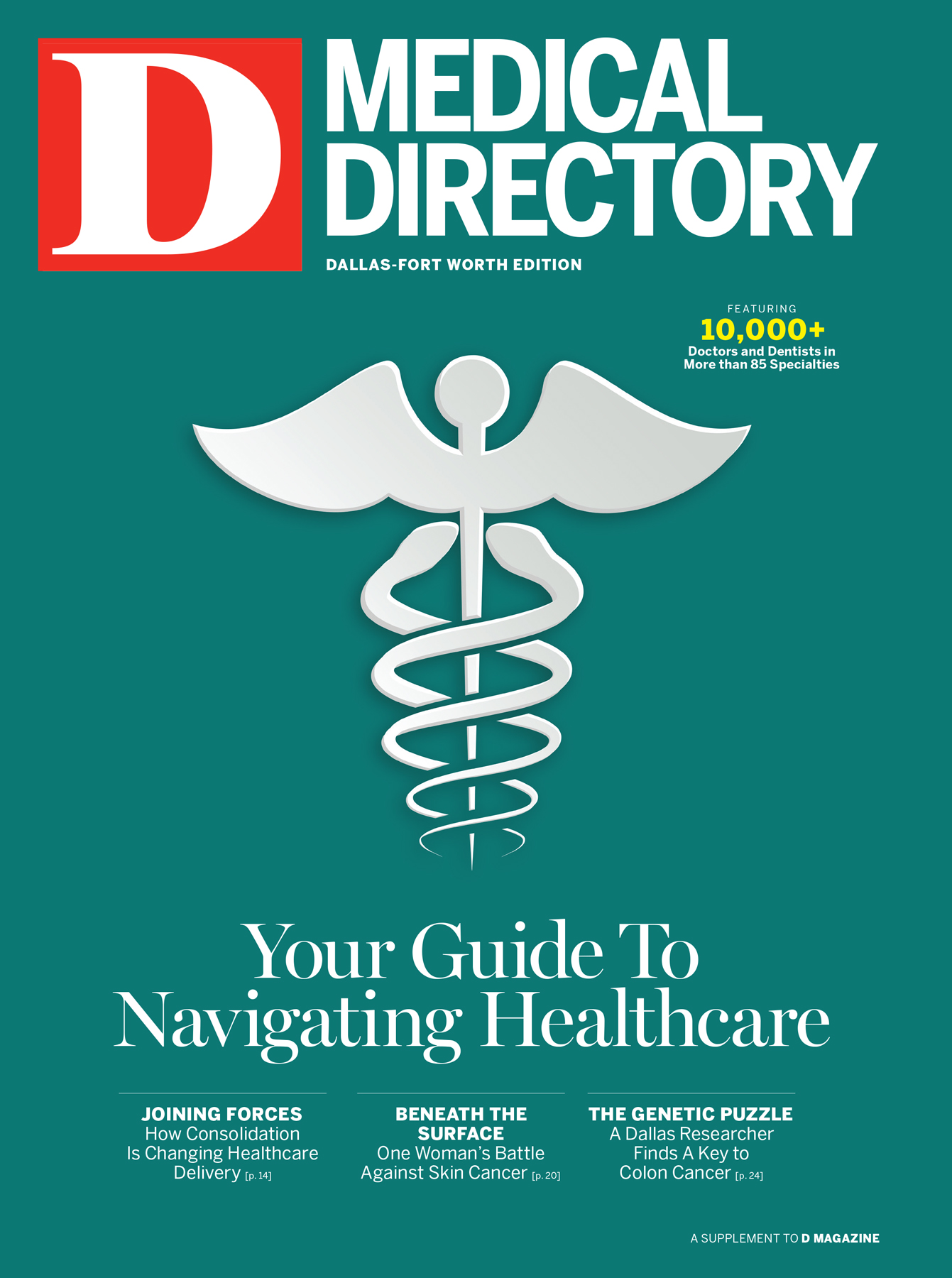 Dallas Medical Directory 2015 cover