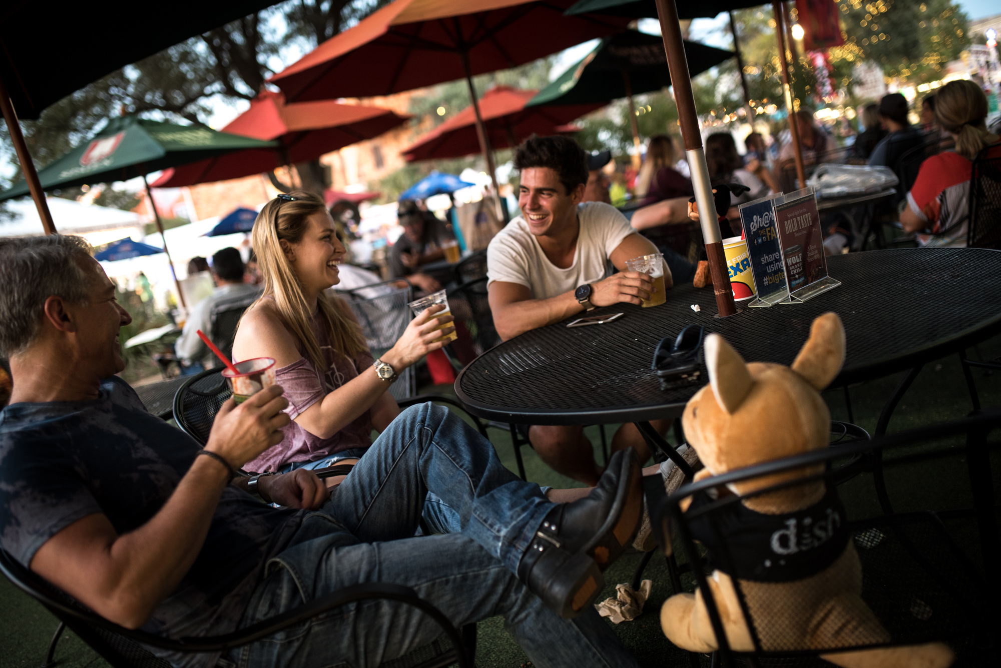 This year, the State Fair offers a wine garden and the Magnolia Beer Garden.