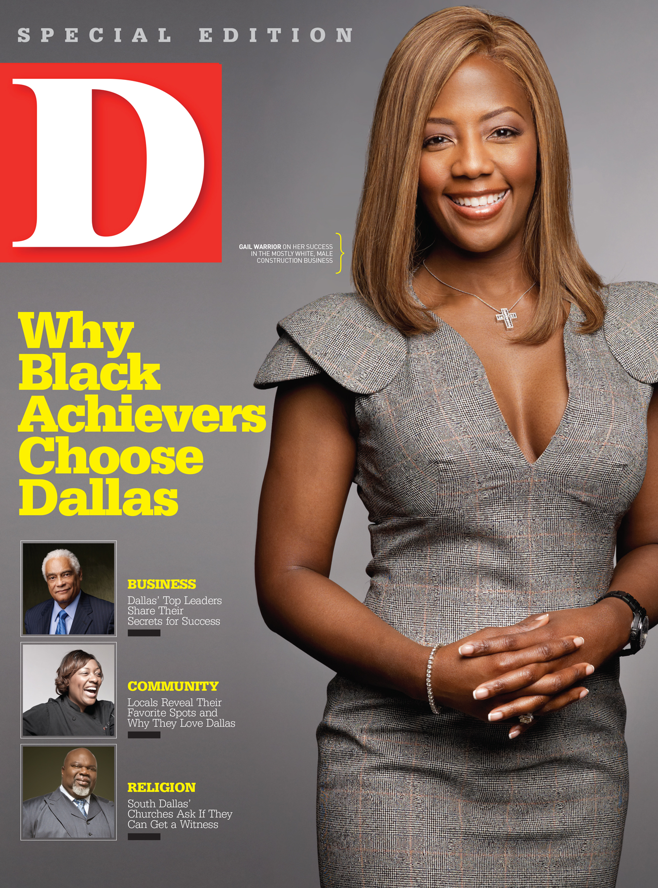 Why Black Achievers Chose Dallas 2011 cover
