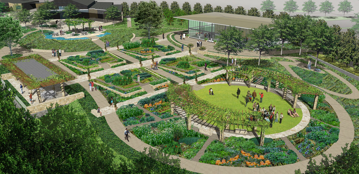A Tasteful Place Will Be Available For Weddings And Private Events.  Rendering Courtesy Of The Dallas Arboretum