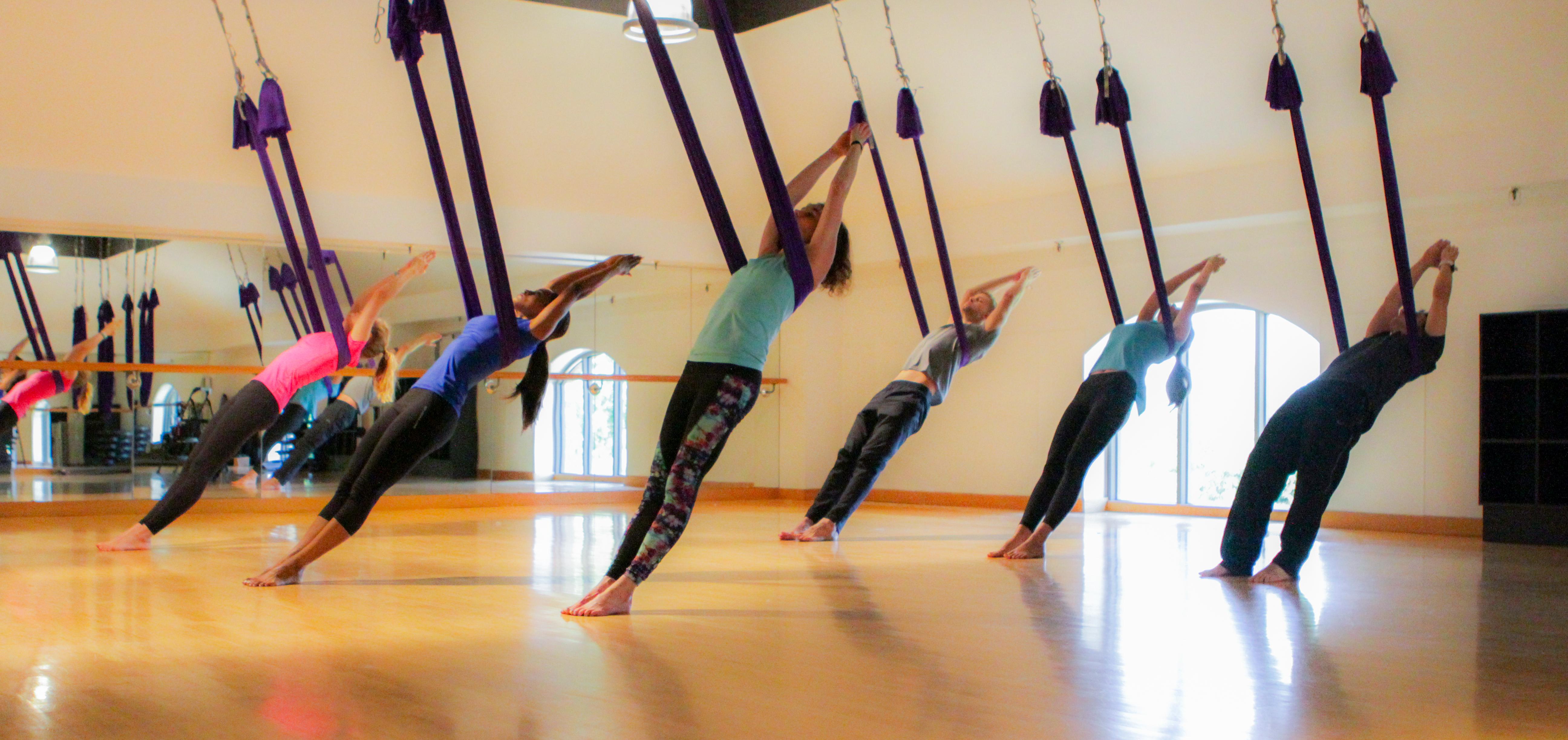 Class Review: AntiGravity Aerial Yoga - D Magazine