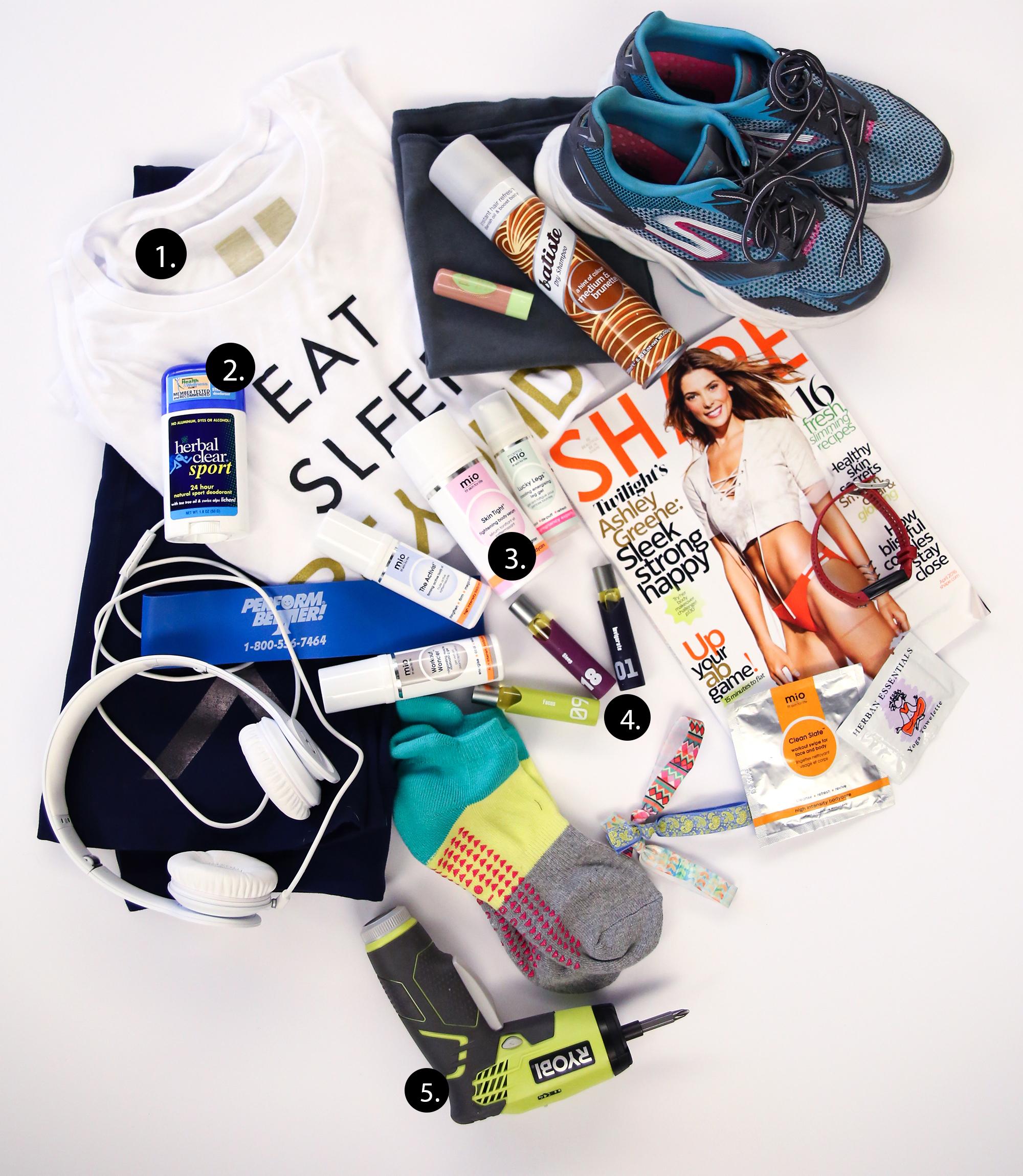 Gym Bag Spill D Magazine