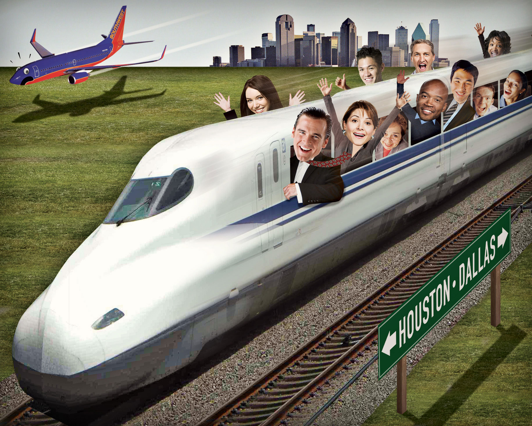 How a High-Speed Train Could Transform Texas - D Magazine