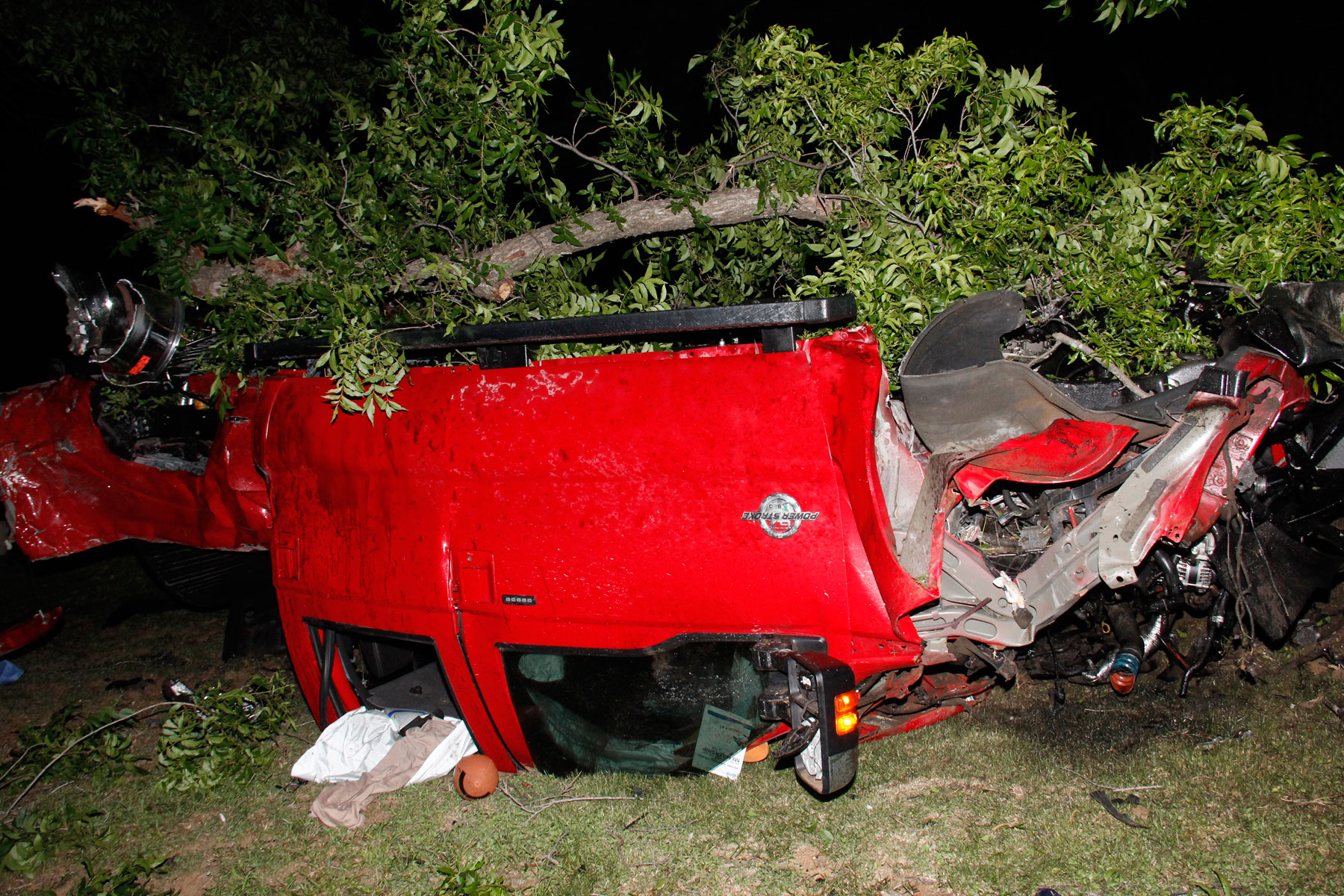 The Ford F 350 That Ethan Couch Crashed.