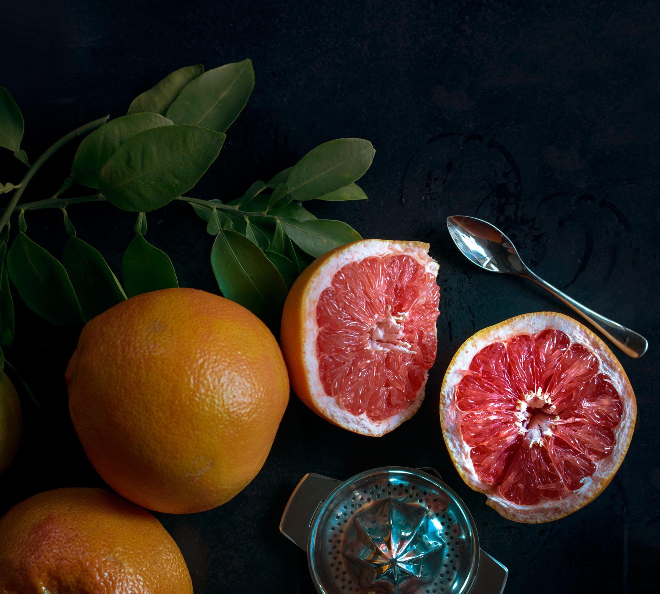 Картинка с грейпфрутом