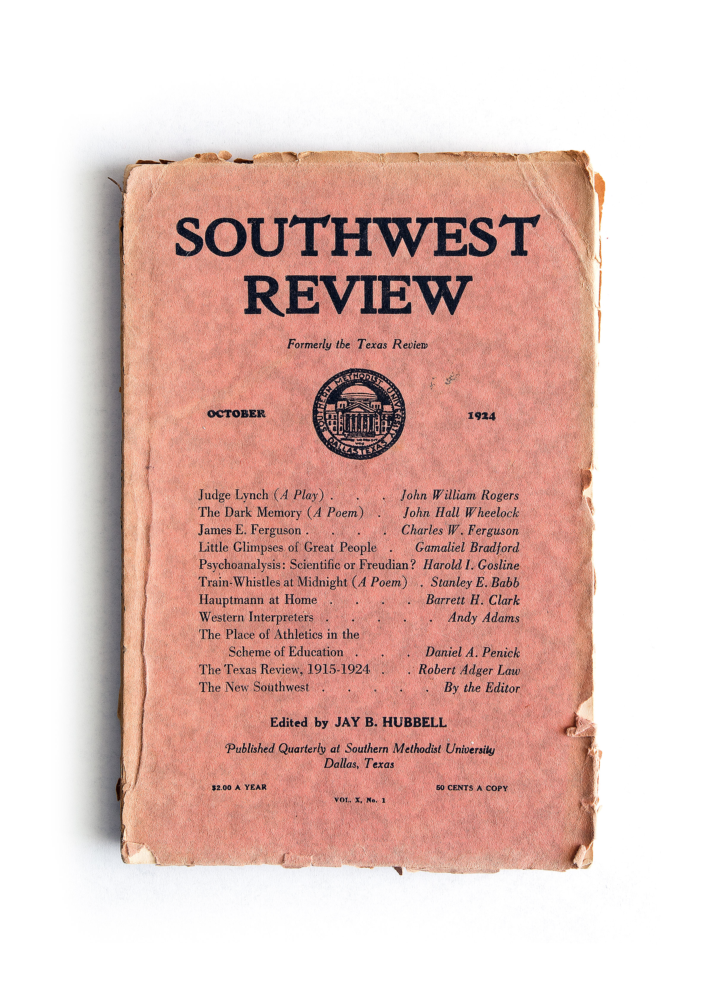 The Southwest Review Turns 100 - D Magazine